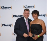 Stay Classy Red Carpet_Autumn Walden-Center for High Impact Philanthropy and Denis Murphy-Friends of Jaclyn Foundation