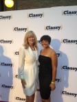 Stay Classy Red Carpet_Autumn Walden-Center for High Impact Philanthropy and Roseann Higgins-Matchmaker